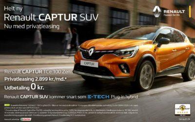 Renault privatleasing