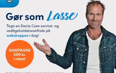 Dacia Care serviceaftale