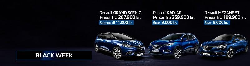 Black Week – Det vildeste Renault lagersalg